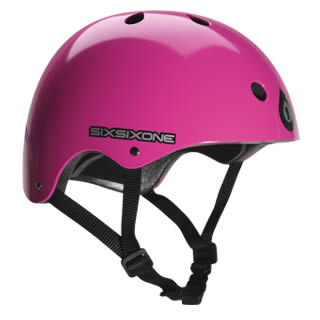 Pink SixSixOne Bicycle Helmets