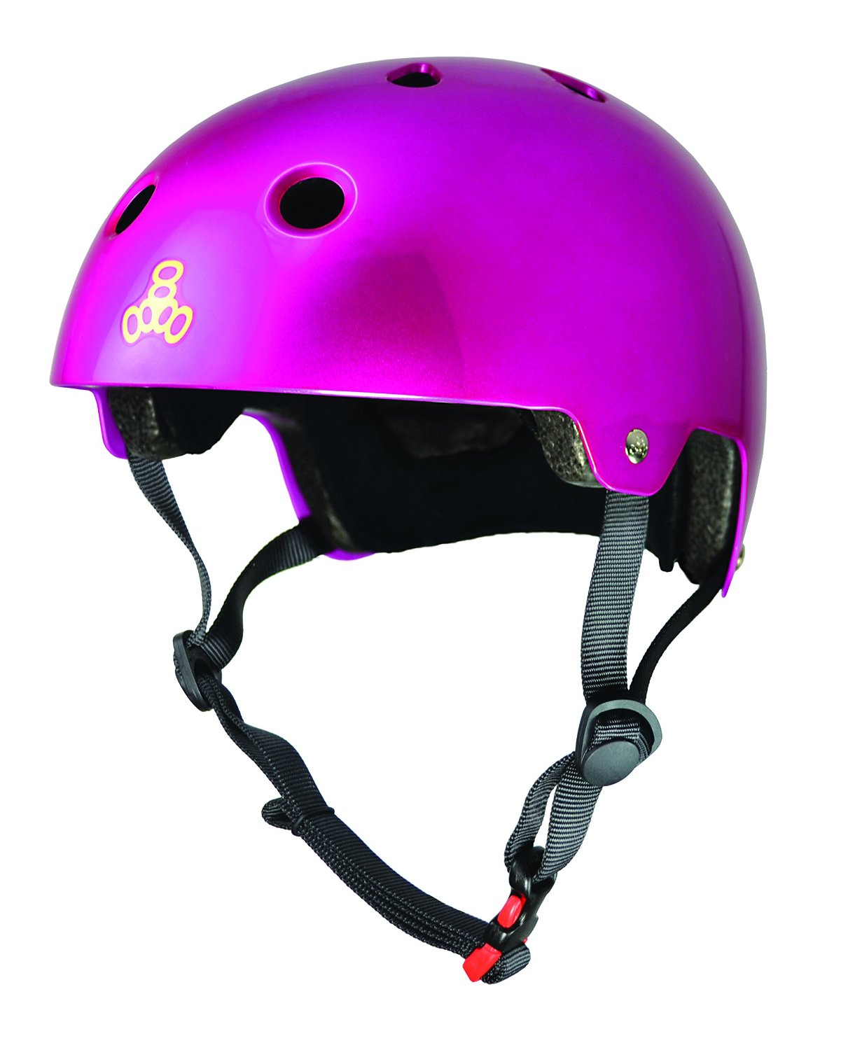 Pink Triple Eight Bicycle Helmets