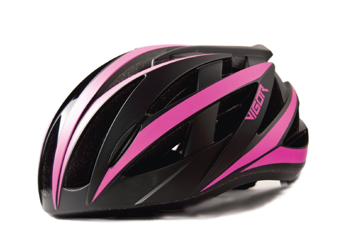 Pink Vigor Bicycle Helmets