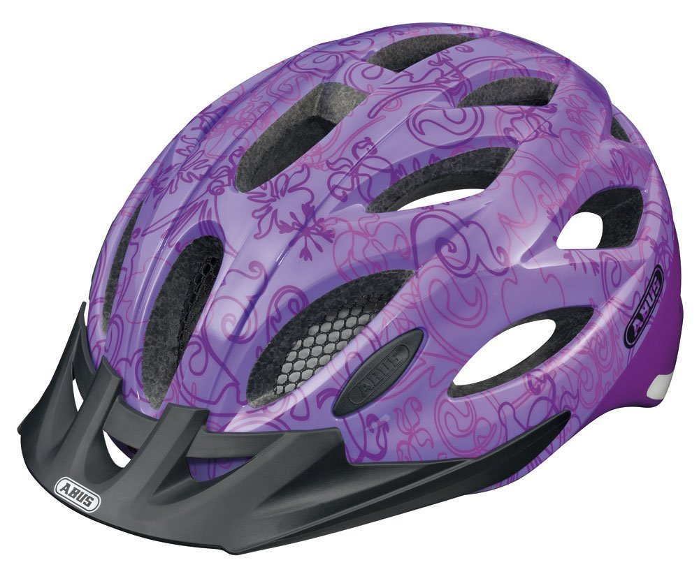 Purple Abus Bicycle Helmets