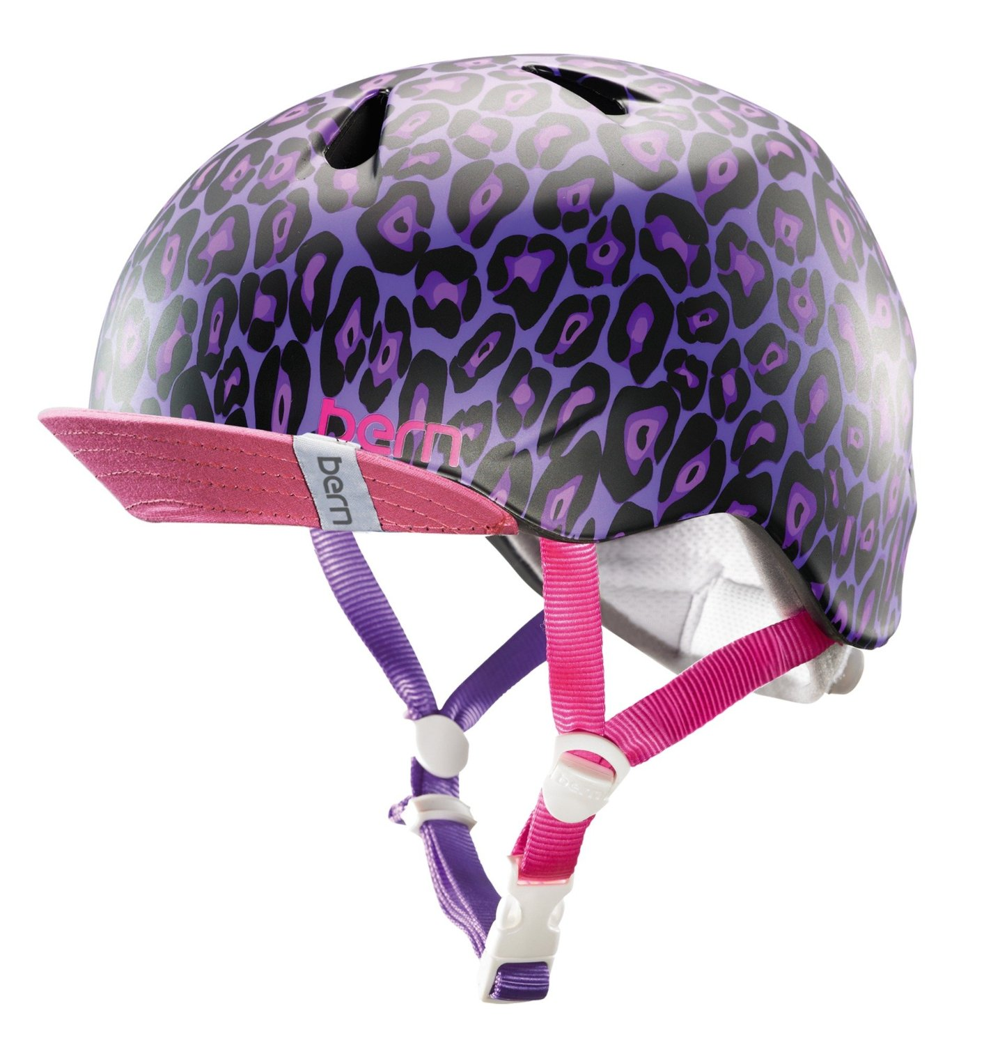 Purple Bern Bicycle Helmets