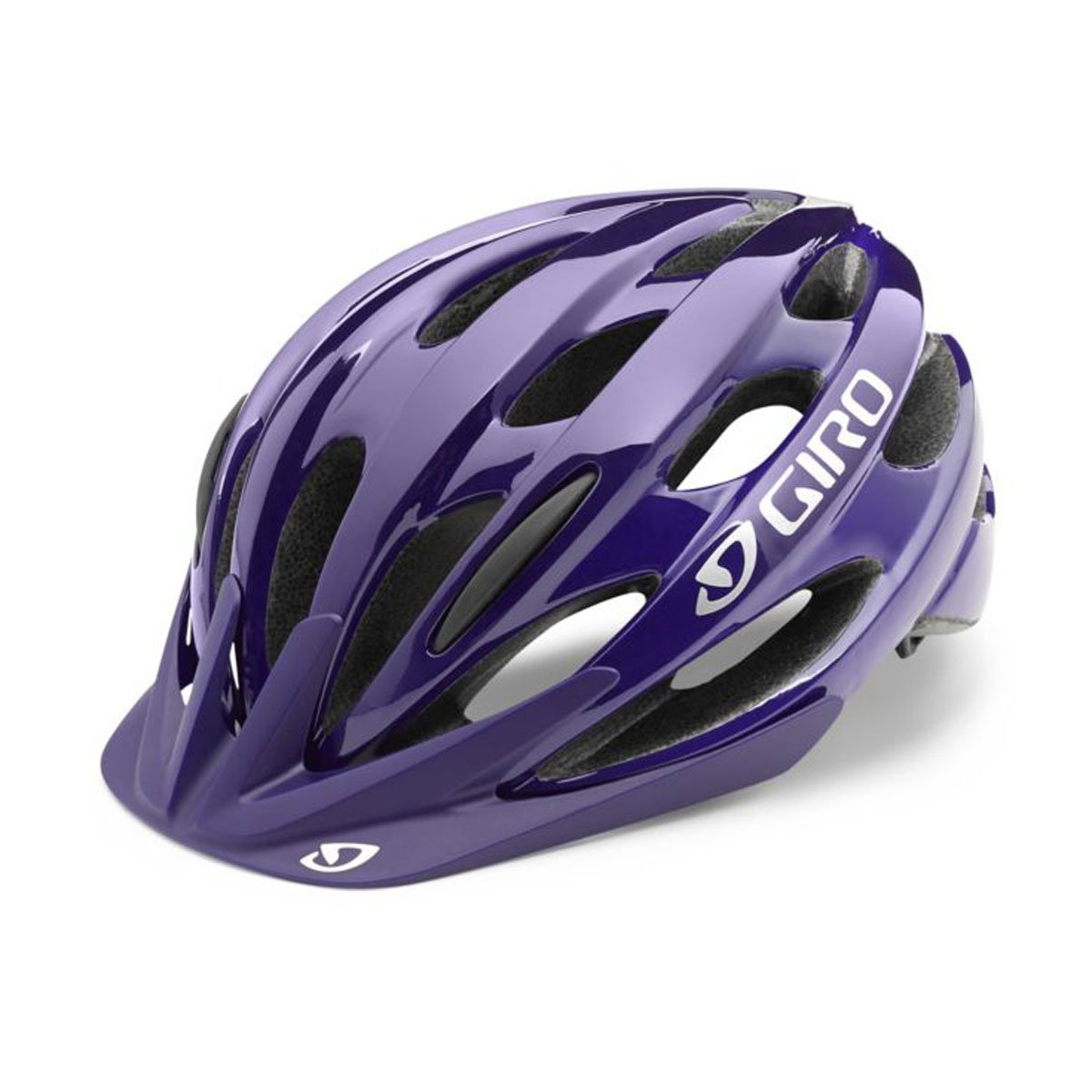 Purple Giro Bicycle Helmets