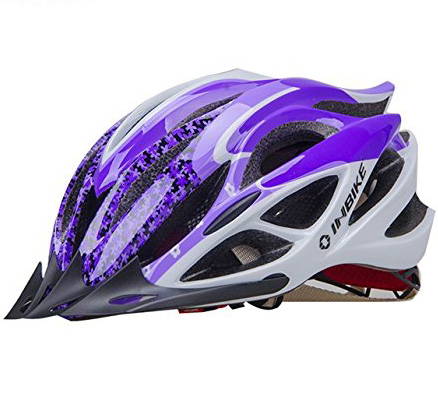 Purple INBIKE Bicycle Helmets