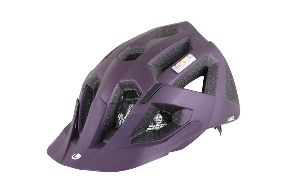 Purple Limar Bicycle Helmets
