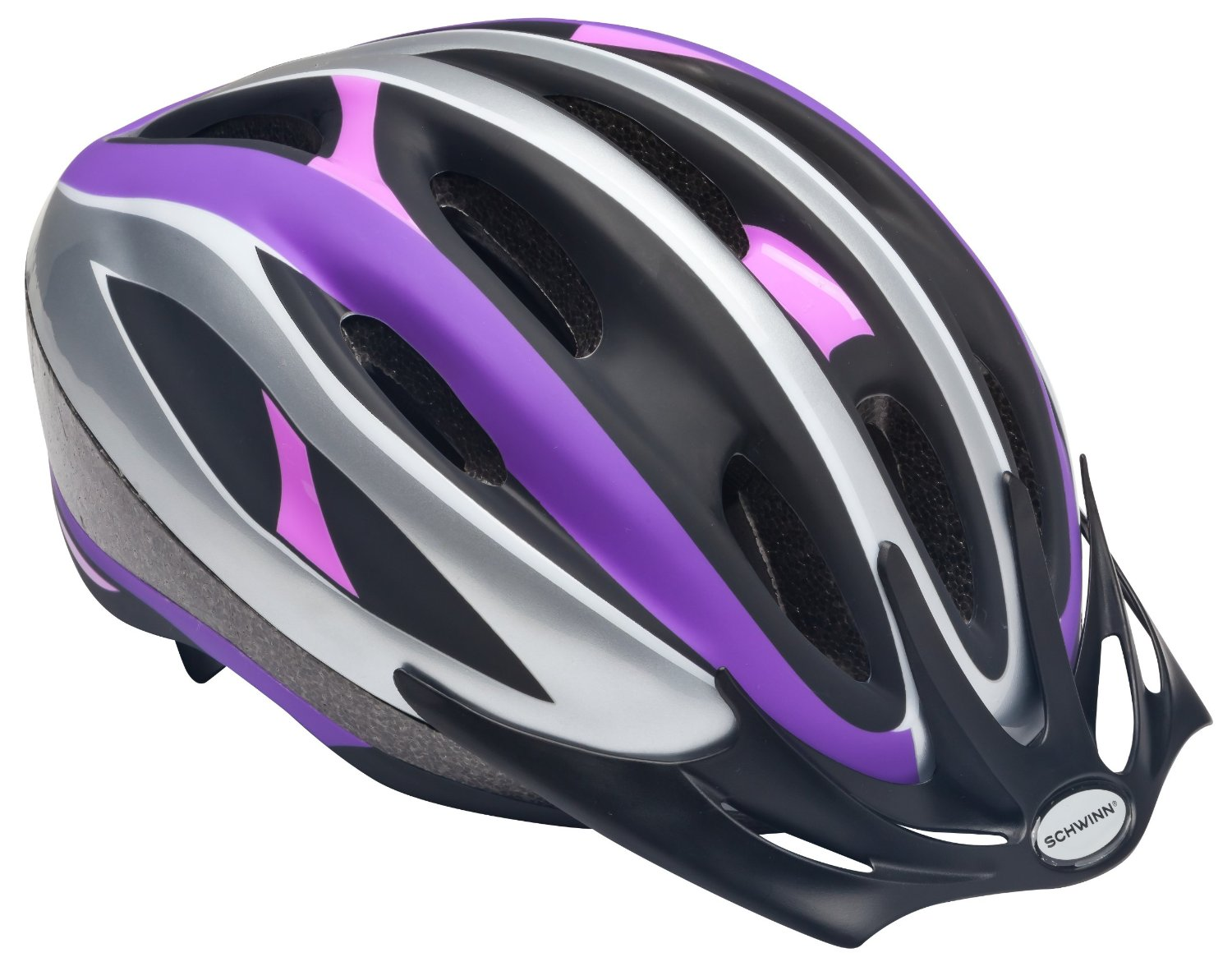 Purple Schwinn Bicycle Helmets