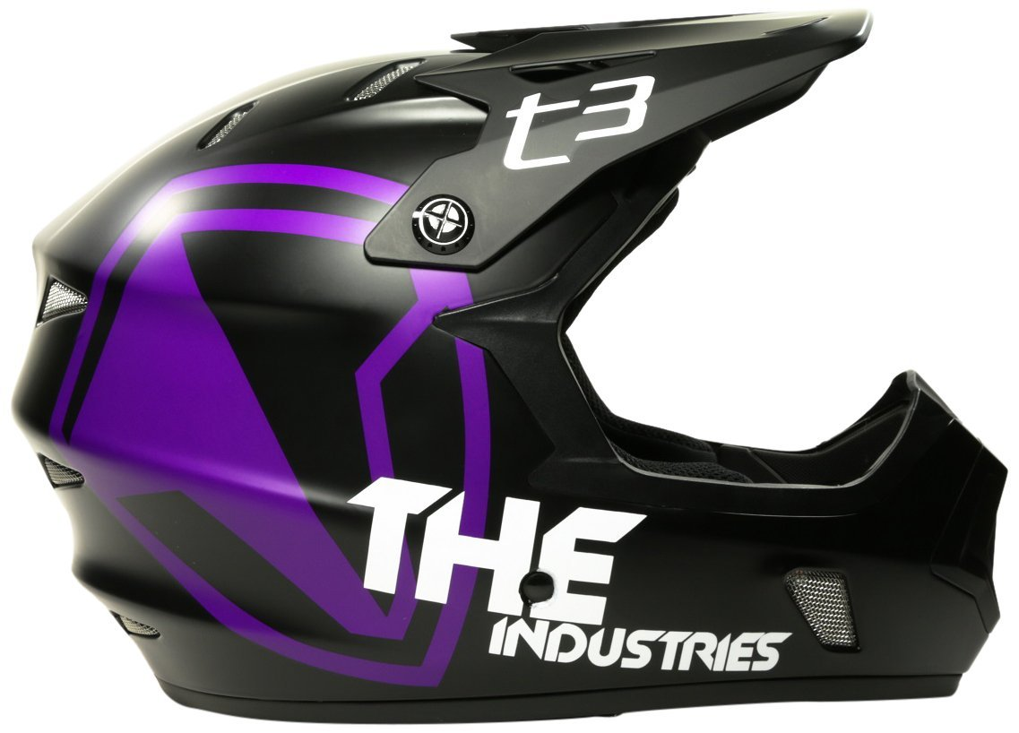 Purple THE Industries Bicycle Helmets