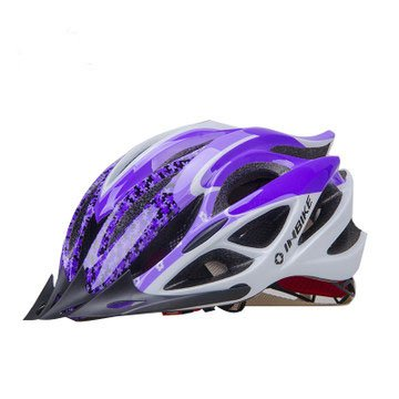 Purple Tourequi Bicycle Helmets