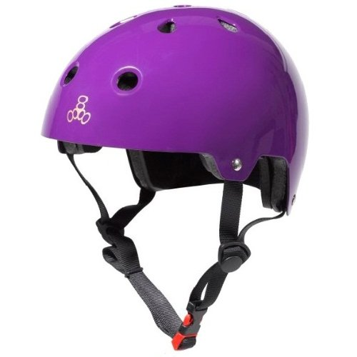Purple Triple Eight Bicycle Helmets