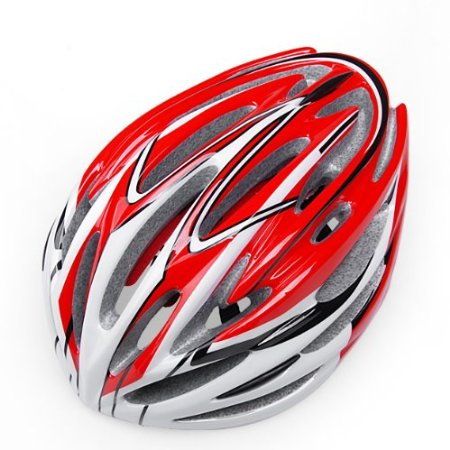 Red 99 Parts Bicycle Helmets