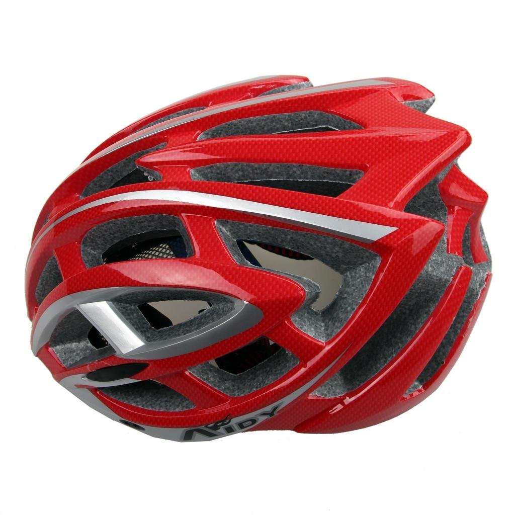 Red Aidy Bicycle Helmets