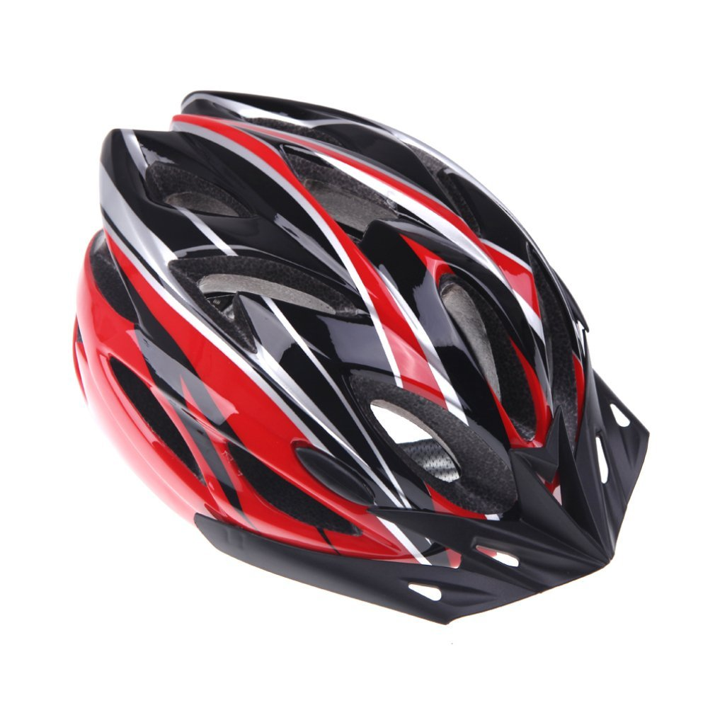 Red B&F Bicycle Helmets