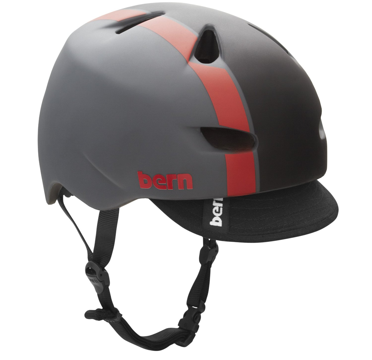 Red Bern Bicycle Helmets