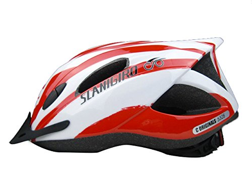Red Coface Bicycle Helmets