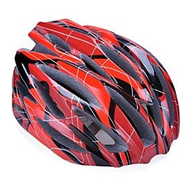 Red FROB SPORT Bicycle Helmets