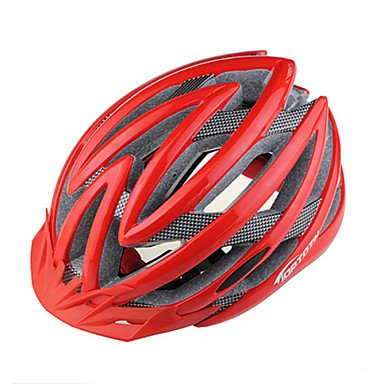 Red GaoF Bicycle Helmets