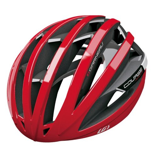 Red Garneau Bicycle Helmets