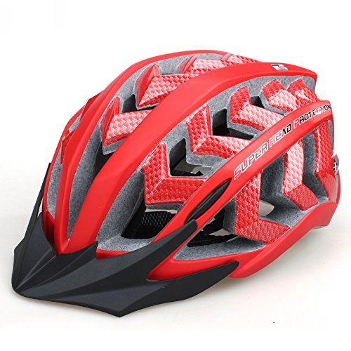 Red INBIKE Bicycle Helmets