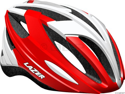 Red Lazer Bicycle Helmets