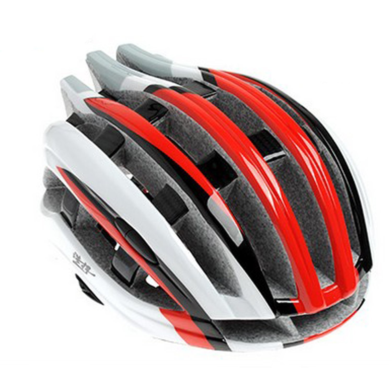 Red Maysu Bicycle Helmets