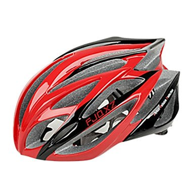 Red MCH-Outdoors Bicycle Helmets