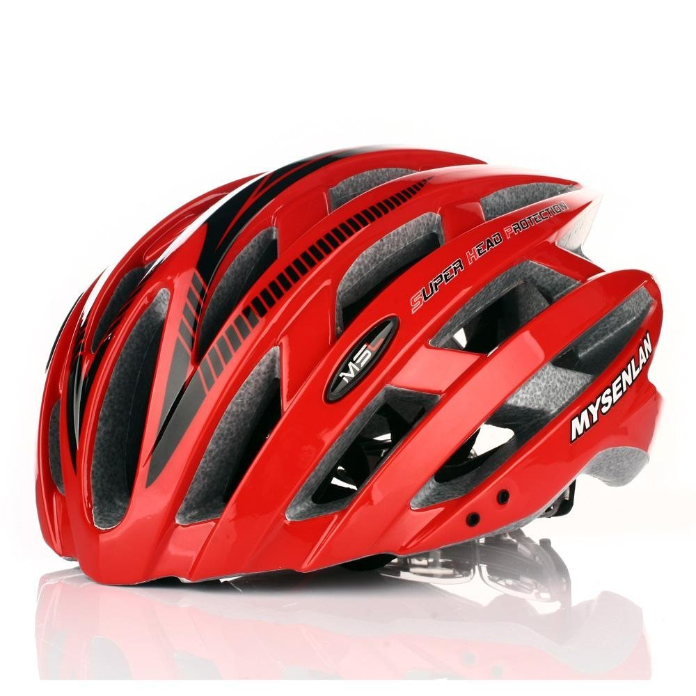 Red Mysenlan Bicycle Helmets
