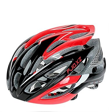 Red OOFAY Bicycle Helmets