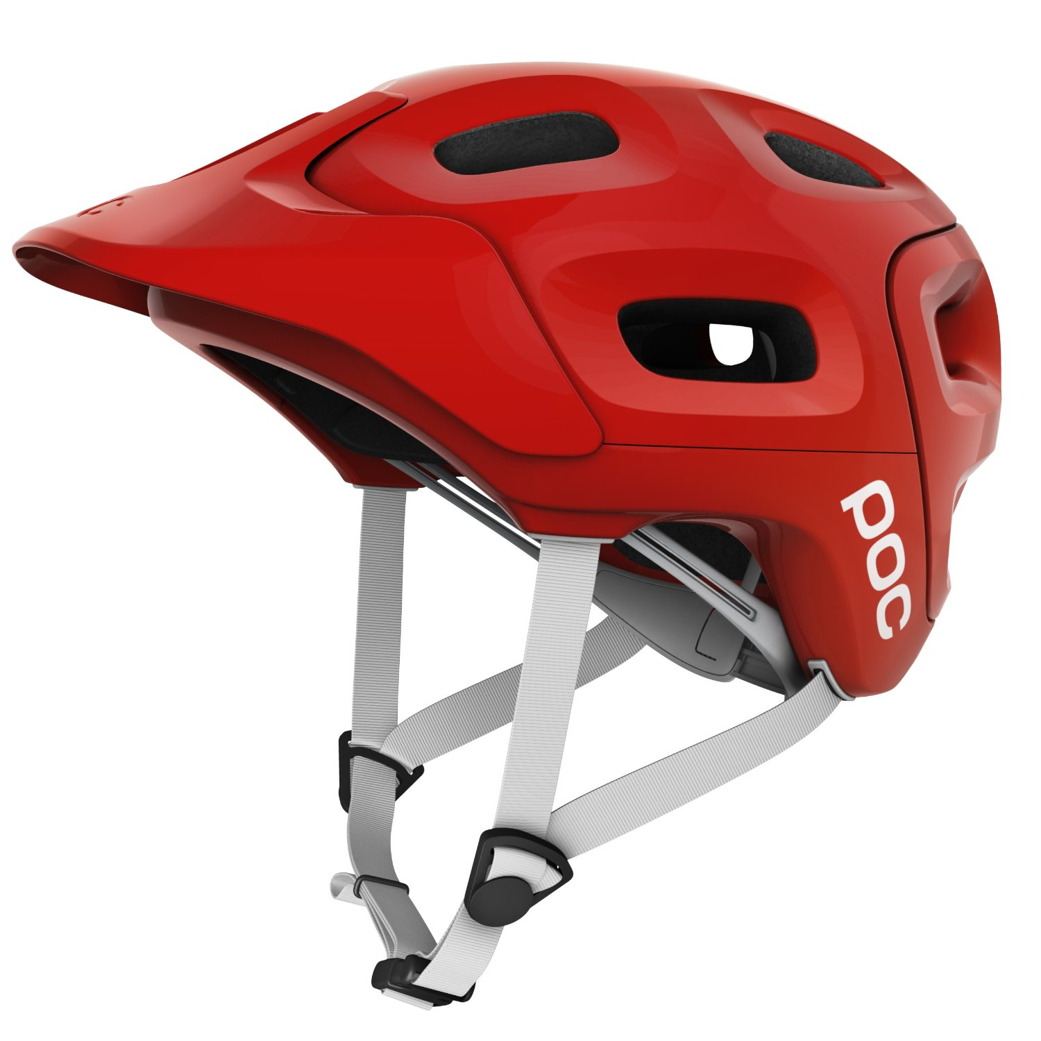 Red POC Bicycle Helmets