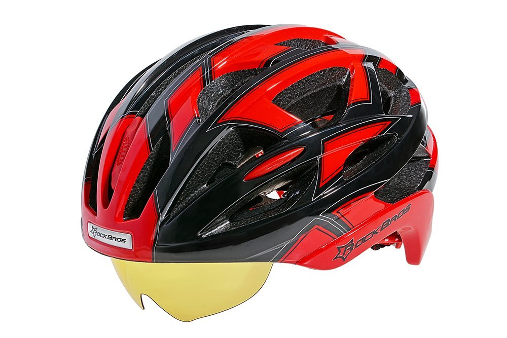 Red RockBros Bicycle Helmets