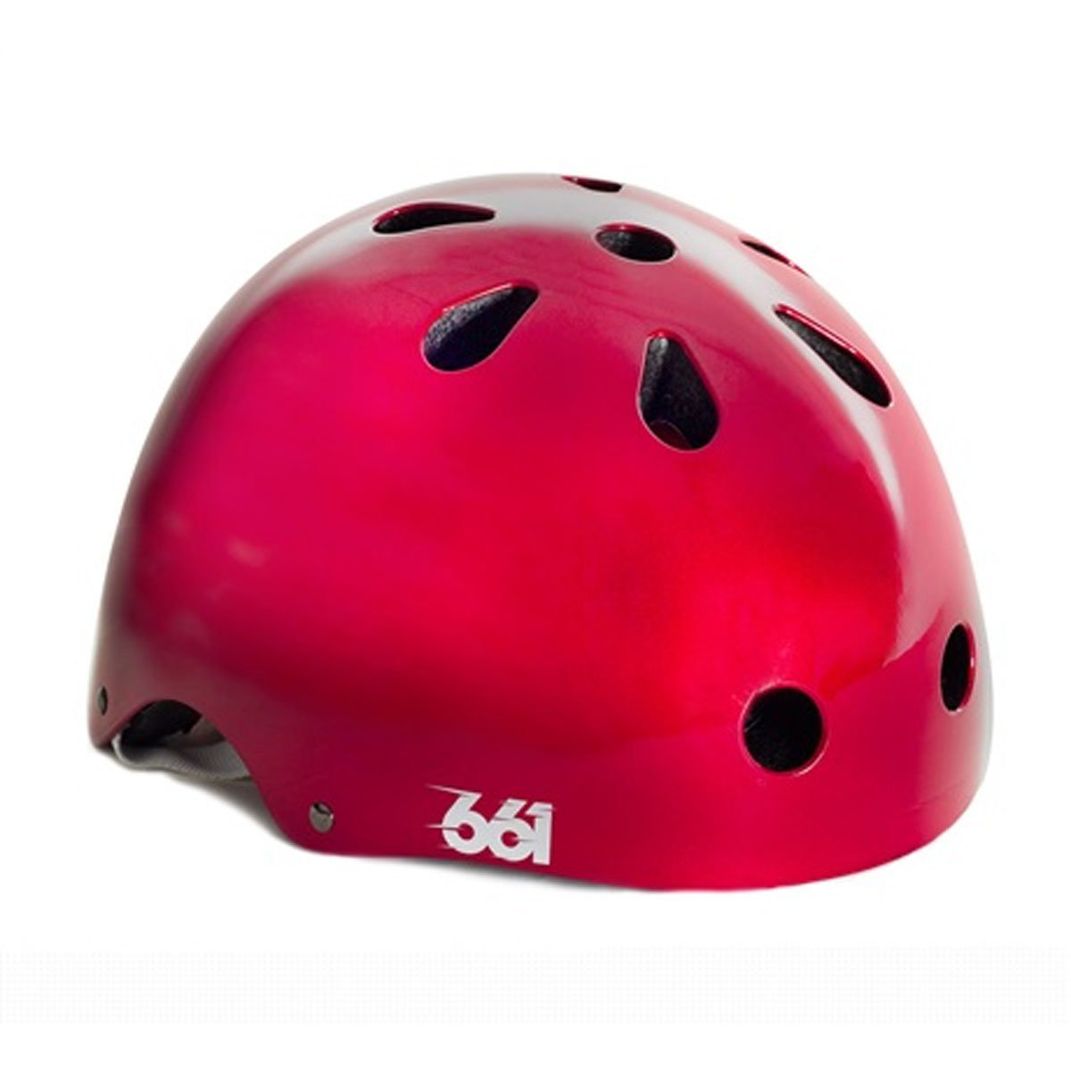 Red SixSixOne Bicycle Helmets