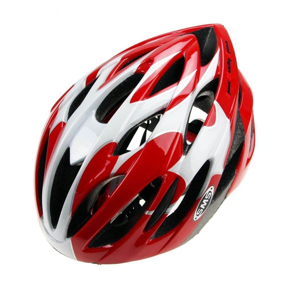 Red Sms Bicycle Helmets