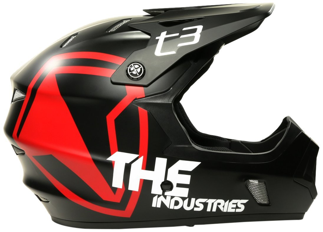Red THE Industries Bicycle Helmets