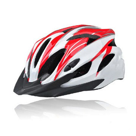 Red Tourequi Bicycle Helmets