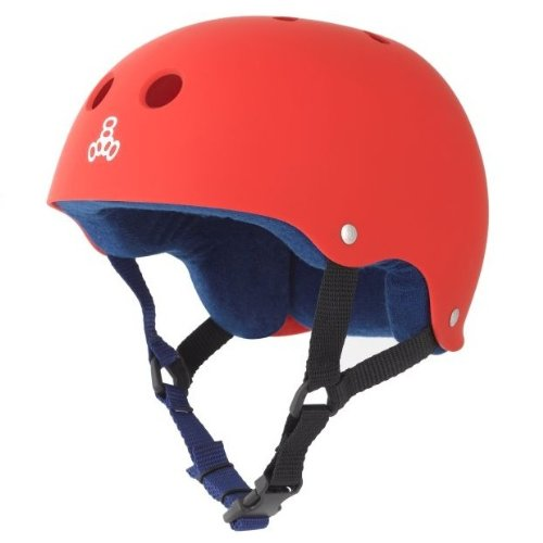 Red Triple Eight Bicycle Helmets