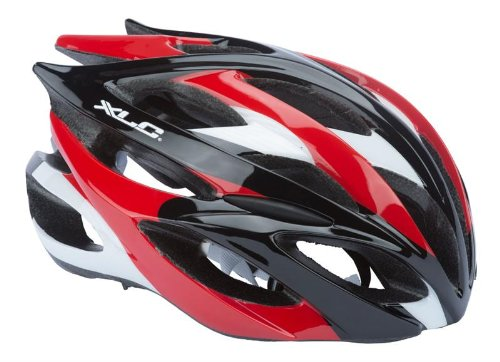 Red XLC Bicycle Helmets