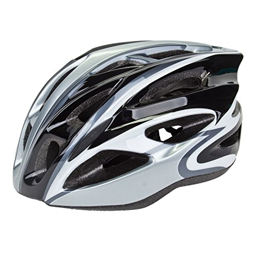 Silver Airius Bicycle Helmets