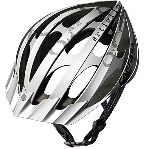 White Bicycle Helmets
