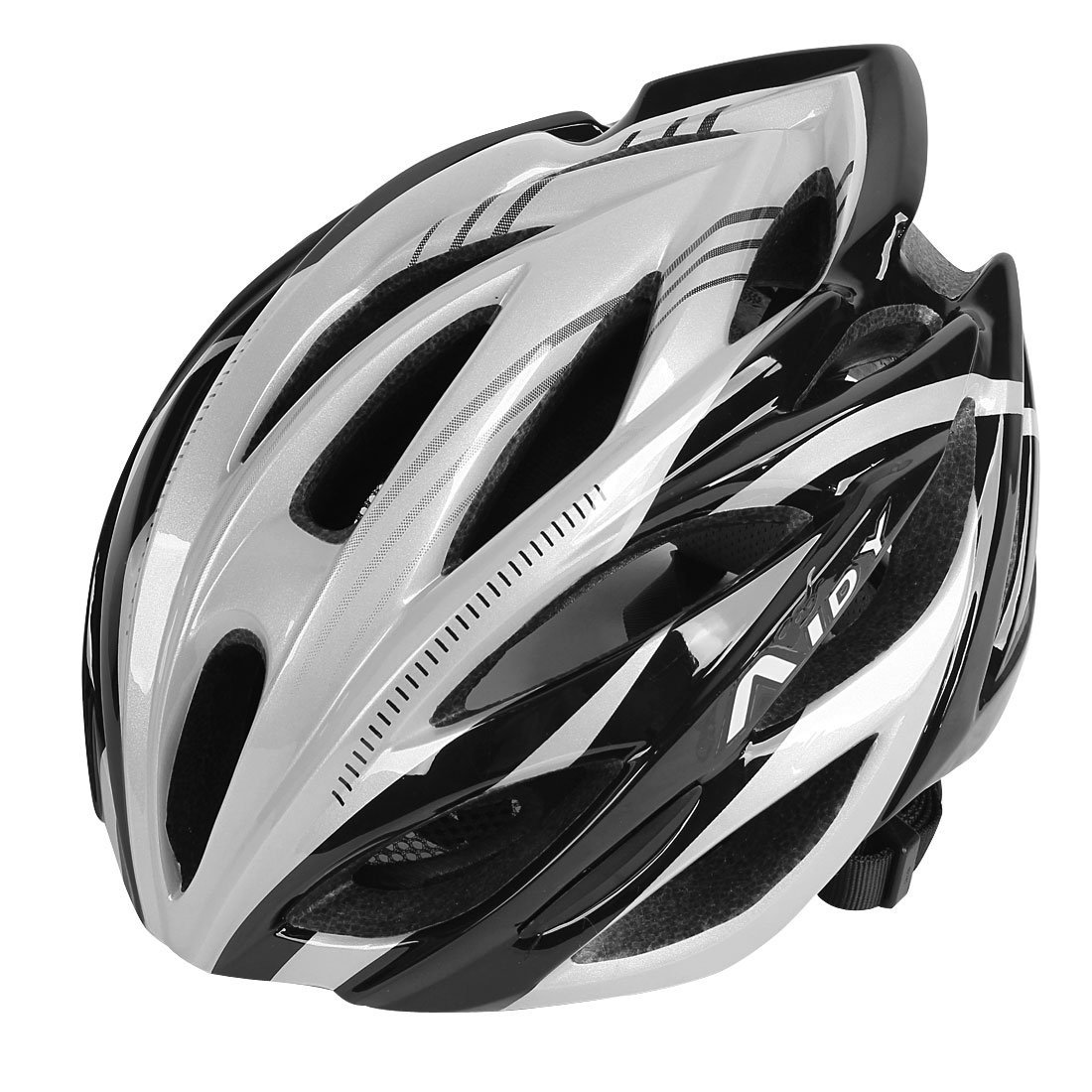 Silver Como Bicycle Helmets