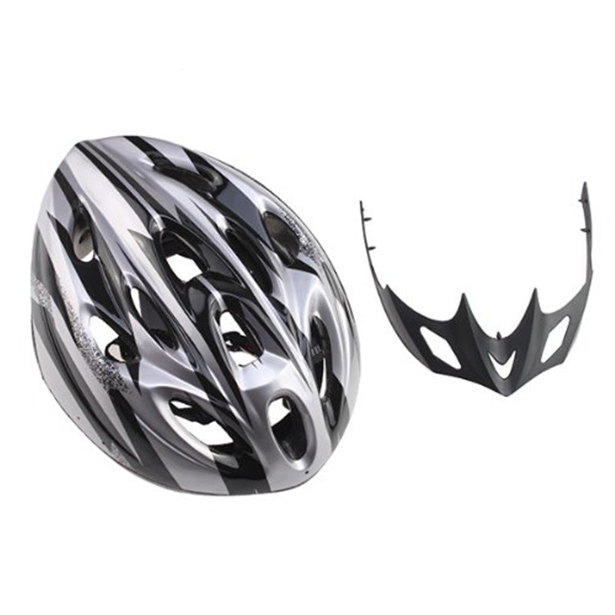 Silver ECYC Bicycle Helmets