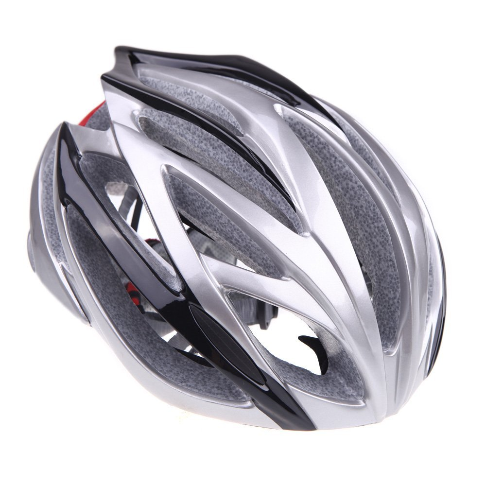 Silver EverTrust Bicycle Helmets