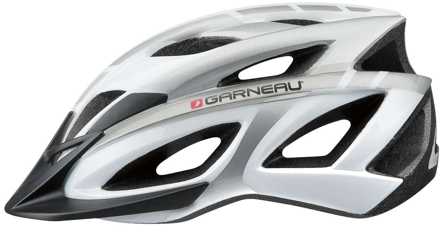 Silver Garneau Bicycle Helmets