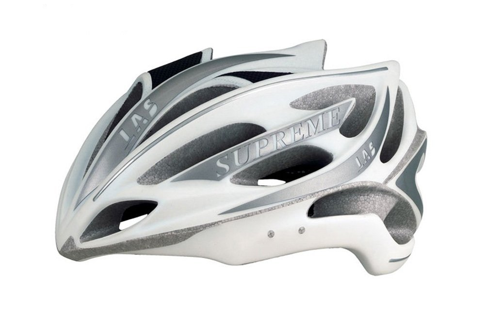 Silver LAS Bicycle Helmets