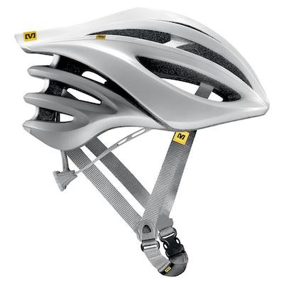 Silver Mavic Bicycle Helmets