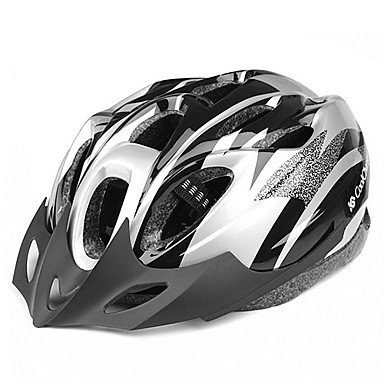 Silver MCH-Outdoors Bicycle Helmets