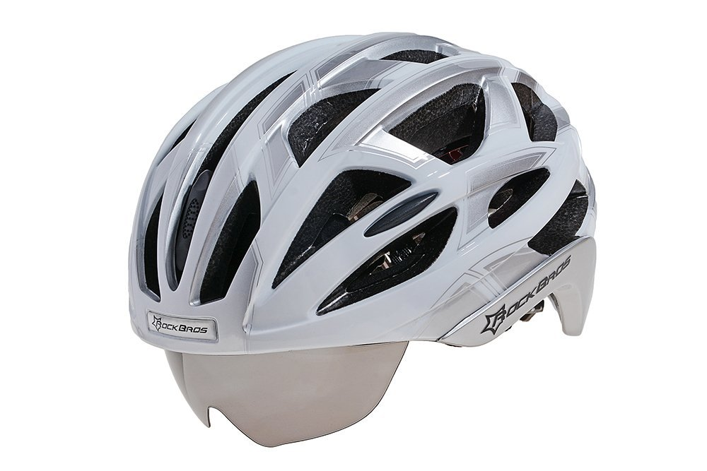 Silver RockBros Bicycle Helmets