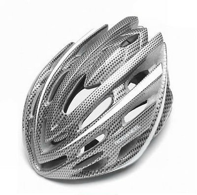 Silver Roswheel Bicycle Helmets