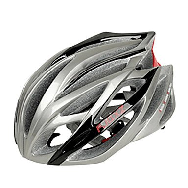 Silver SJ-Outdoors Bicycle Helmets