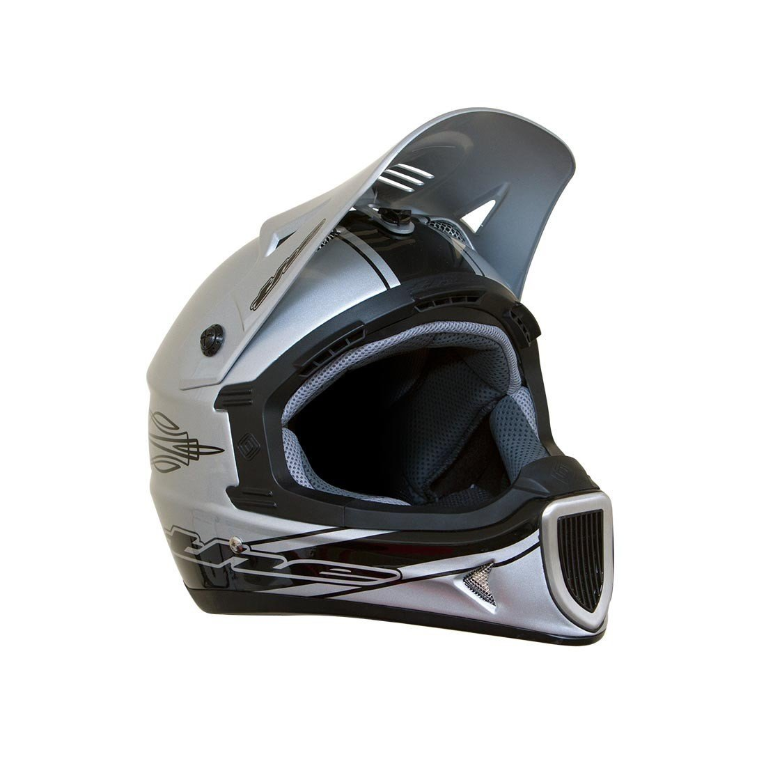 Silver THE Industries Bicycle Helmets