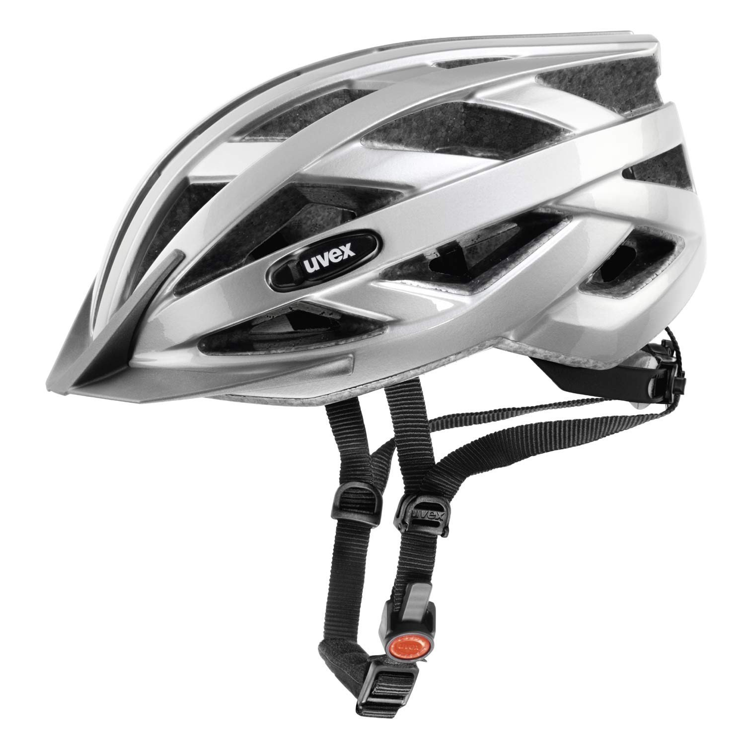 Silver Uvex Bicycle Helmets