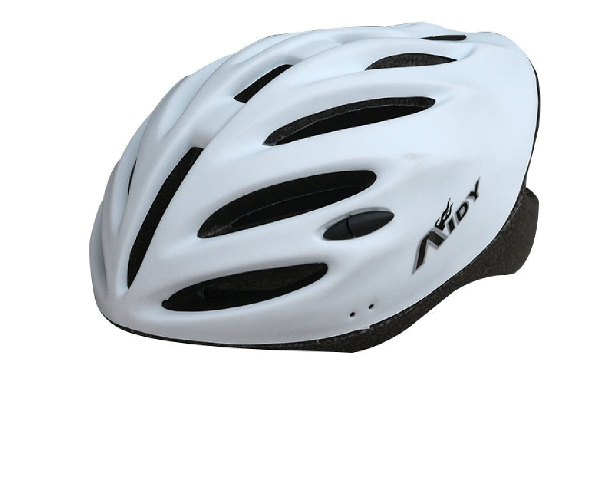 White Aidy Bicycle Helmets