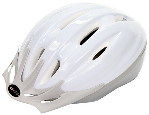 White Airius Bicycle Helmets